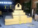 Набор железобетонных грузов в стальном коробе :: Набор грузов массой 6250 кг.