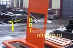 Малый штатив набора грузов массой 1 тонна :: Часть набора грузов 25 т., изготовленного для ОАО Газпром