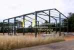 Металлокаркас :: Сборный стальной каркас здания