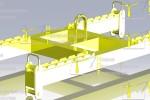 Траверса :: Траверса, предназначенная для транспортировки железобетонных плит различной массы и габаритов.