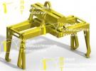 Траверса :: Траверса, предназначенная для транспортировки моторной тележки типа ЭР-2, ЭД-4.