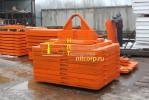 Набор стальных грузов для испытания кранов массой 18,75 тонн :: Произведен под заказ для компании ТНК-BP