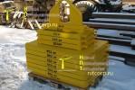 Набор стальных грузов для кранов массой 4020 кг.:: Спроектирован и произведен для казахской производственной компании