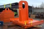 Комплект стальных грузов массой 75 тонн :: Спроектирован и произведен для вагоностроительного завода